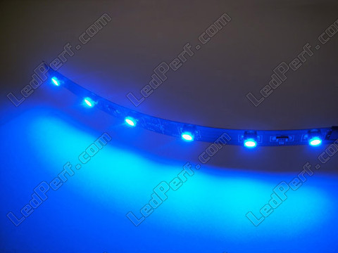 Divisible smd LED flexible strip Blue