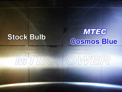 MTEC Cosmos Blue H4 gas-charged xenon bulb