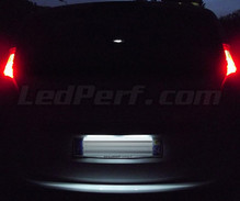 LED Licence plate pack (xenon white) for Dacia Lodgy