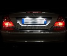 Rear LED Licence plate pack (pure white 6000K) for Mercedes CLK (W209)