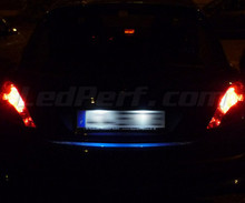 LED Licence plate pack (xenon white) for Peugeot 207