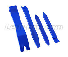 Kit of 4 special plastic removal tools