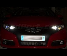 Sidelights LED Pack (xenon white) for Honda Civic 9G