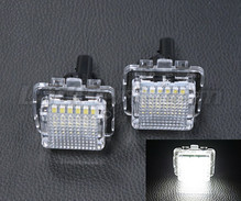 Pack of 2 LEDs modules licence plate for Mercedes CLS (W218)