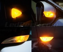 Side direction indicator LED pack for Volvo C30