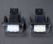 Pack of 2 LEDs modules licence plate for Peugeot 407