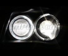 Pack of Xenon effect directional headlight bulbs for BMW Serie 1 (E81 E82 E87 E88)