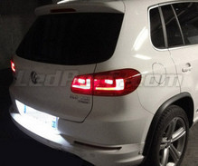 Rear LED Licence plate pack (pure white 6000K) for Volkswagen Tiguan Facelift (2010 et after)