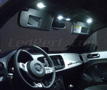 Interior Full LED pack (pure white) for  Volkswagen New Beetle 2012