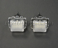 Pack of 2 LEDs modules licence plate MERCEDES (type 4)