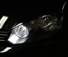 Xenon Effect bulbs pack for Seat Alhambra 7N headlights and daytime running lights