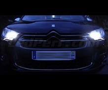 Daytime running light/sidelight LED pack (xenon white) for Citroen DS4
