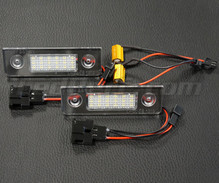 Pack of 2 LEDs modules licence plate VW Audi Seat Skoda (type 12)