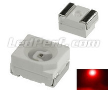 100 LEDs SMD TL - Red - 140mcd