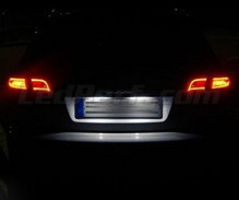 Rear LED Licence plate pack (pure white 6000K) for Audi A3 8P FACELIFT (restyled)