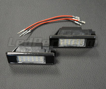 Pack of 2 LEDs modules licence plate PEUGEOT / CITROEN (type 2)