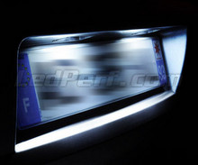 LED Licence plate pack (xenon white) for Nissan Qashqai II