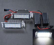 Pack of 2 LEDs modules licence plate for Opel Mokka