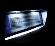 LED Licence plate pack (xenon white) for Opel Zafira A