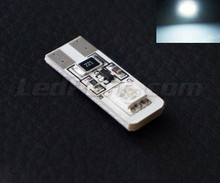 T10 Dual LED - White - anti-onboard-computer error OBC - W5W
