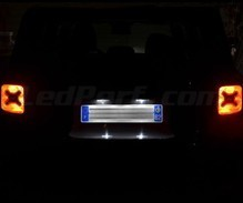 LED Licence plate pack (xenon white) for Jeep Renegade