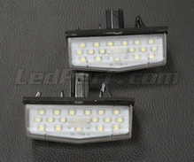 Pack of 2 LEDs modules licence plate TOYOTA (type 4)