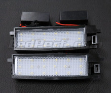 Pack of 2 LEDs modules licence plate for Toyota Auris MK2