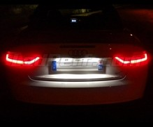 Rear LED Licence plate pack (pure white 6000K) for Audi A5 8T - 2010 and +