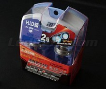 Pack of 2 HIR2 (9012) bulbs - MTEC Super White - Pure White