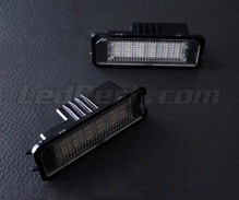 Pack of 2 LEDs modules licence plate for Volkswagen Polo 9N3
