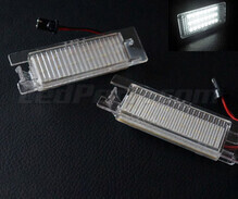 Pack of 2 rear LED Licence plate modules for OPEL (type 1)