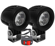 Additional LED headlights for Aprilia Mojito Custom 50 - Long range
