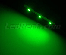 Standard flexible strip with 3 leds TL SMD green