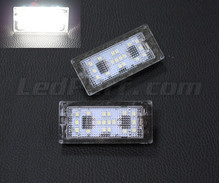 Pack of 2 LEDs modules licence plate for Honda Civic 9G