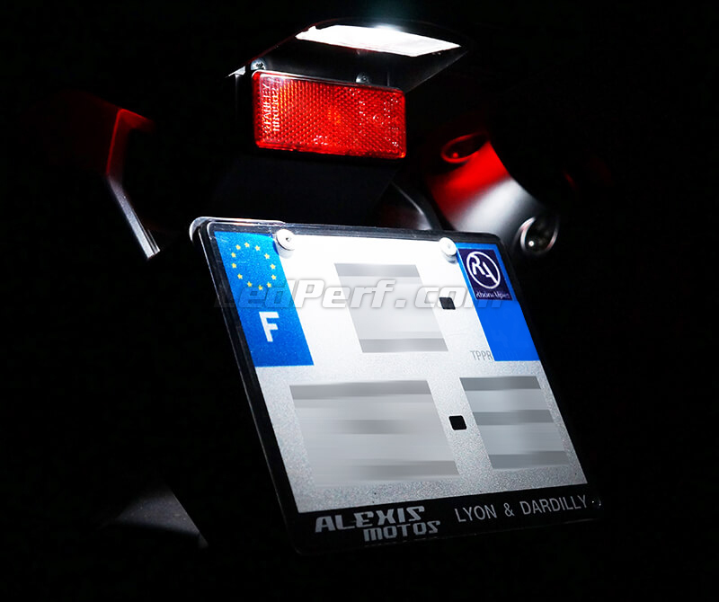 LED Licence plate pack (xenon white) for MV-Agusta F3 800