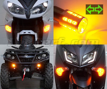 Front LED Turn Signal Pack  for MBK Booster 50