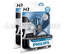 Pack of 2 Philips WhiteVision H3 bulbs (New!)