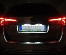 LED Licence plate pack (xenon white) for Toyota Auris MK2