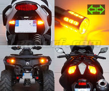 Rear LED Turn Signal pack for Harley-Davidson Super Glide Custom 1690