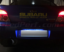 LED Licence plate pack (xenon white) for Subaru Impreza GG/GD