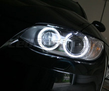 H8 angels eyes pack with (pure) white LEDs for BMW 3 Series (E92 - E93) - MTEC V3.0