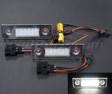Pack of 2 LEDs modules licence plate for Skoda Roomster