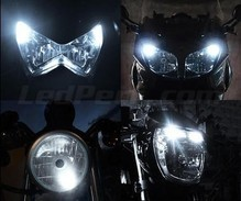 Sidelights LED Pack (xenon white) for Aprilia Sonic 50 H2O