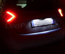 LED Licence plate pack (xenon white) for Renault Zoe