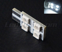 T10 Rotation LED with 4 leds HP - Side lighting - White - W5W