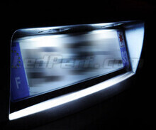 LED Licence plate pack (xenon white) for Nissan Navara D40