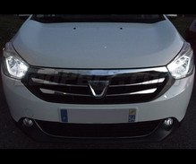 Sidelights LED Pack (xenon white) for Dacia Lodgy
