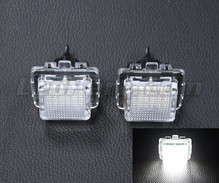 Pack of 2 LEDs modules licence plate for Mercedes E-Class (W212)