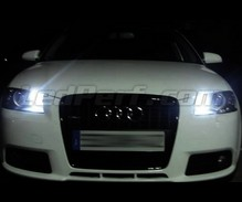 Sidelights LED Pack (xenon white) for Audi A3 8P