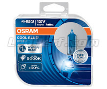 Pack of 2 Osram Cool Blue Boost  HB3 bulbs - 5000K - 69005CBB-HCB
